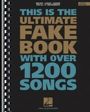 The Ultimate Fake Book 5th Edition Sheet Music C Edition Real Book Fak 000240024