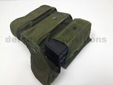 US Military MOLLE Tactical 9 Mag Pouch Triple Mag x3 Smoke Green Ranger Green