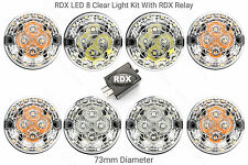 RDX LED Land Rover Defender 8 Trasparente Kit Luci con relè