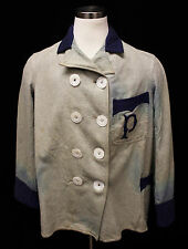 1905-06 Pittsburgh Pirates Baseball Game-Used Warm-up Coat/Jacket - Dutch Meier