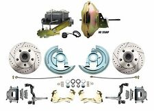 1967 1968 1969 Camaro Power Disc Brake Conversion Kit Drilled & Slotted, GM-227