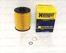 BMW 550i 650i 750i 760i X5 OEM HENGST OIL FILTER KIT 11427542021, E203H04D67