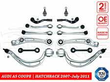 FOR AUDI A5 8T 07-7/11 FRONT SUSPENSION ARMS TRACK RODS LINKS BALL JOINTS KIT