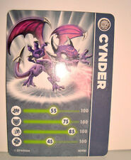 CARTE FIGURINE FIGURE JEUX VIDEO SKYLANDERS - CYNDER