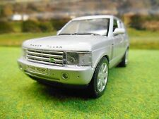 WELLY 1/32 LANDROVER RANGE ROVER IN SILVER BOXED & NEW