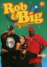 Rob and Big: The Complete Third Season [3 Discs] (2008, DVD NIEUW)