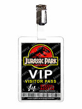 Jurassic Park VIP Visitor Pass ID Badge Card Cosplay Film Prop Christmas