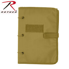 Rothco Hook & Loop Morale Patch Keeper Book - COYOTE TAN