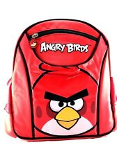"Rovio Angry Birds Look At You 10"" Canvas School Backpack"