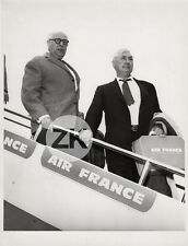 FELIX LABISSE Avion JEAN CASSOU Peinture Littérature AIR FRANCE Photo 1959