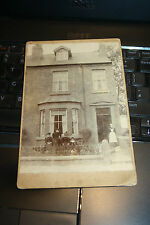 ASKERN SPA DONCASTER RARE   PRIVATE REAL PHOTOGRAPHIC CABINET PHOTO 1890S