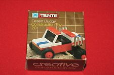 Vintage Hasbro Tente Desert Buggy 24 pc Construction Toy 201 New Sealed