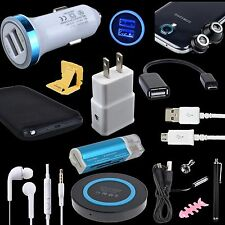 14 Accessory Wireless Charger Car Cable Lens for Samsung Galaxy S7 S6 Edge Note5