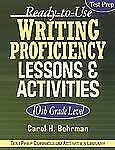 Ready-to-Use Writing Proficiency Lessons and Activities 69 by Carol H....