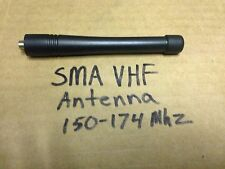 New VHF 150 - 174 mhz ANTENNA SMA-F SMA connector Kenwood Hytera Relm and More..