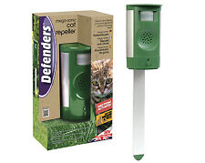 STV Mega Sonic Cat Repeller Repellent With Adaptor Pest Control