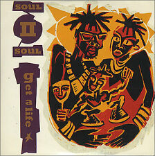 "SOUL II SOUL - Get A Life - 1989 UK 4-track 3"" CD single featuring Club Mix etc"