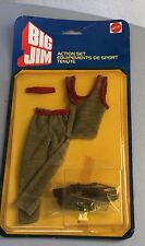 MATTEL#VINTAGE BIG JIM ACTION SET SPORT TENUTE GYM#MOSC