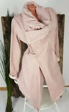 NEU LINDSAY ITALY VINTAGE SWEAT JACKET WICKEL BLAZER WASHED BATIK ROSA 38 40 42