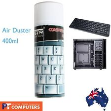 OZ Compressed Air Duster Can Cleaner 400ml for Notebook Laptop PC Keyboard