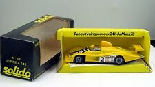 Solido 1/43 Alpine A 442 24 hours LeMans 1978 in its original box