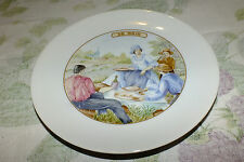 APILCO FRANCE LE FROMAGE LE BRIE CHEESE SALAD PLATE  EXC