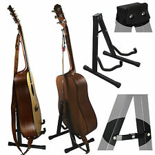 NEW! Universal Folding A-Frame Guitar Stand ~ Acoustic, Bass & Electric Guitars