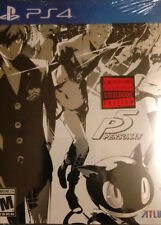 Persona 5: Steelbook Launch Edition (PS4, 2017) Brand New Factory Sealed