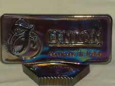 FENTON Logo/Dealer Display Sign Amethyst Carnival #9799DT - Great Gift Idea!