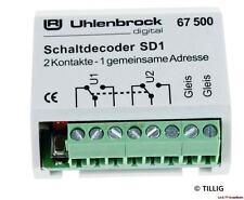 SD1 Schaltdecoder 67500 Uhlenbrock Neu!!!