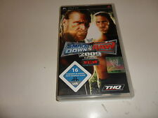 PLAYSTATION PORTABLE PSP WWE SmackDown vs. Raw 2009