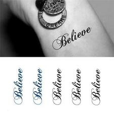 1 PC Removable Glue Body Tatoo Stikcers Tattoo Waterproof Temp Tattoo CA