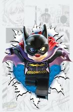 POSTER BATMAN THE DARK KNIGHT RISES IL CAVALIERE OSCURO JOKER DC LEGO #1