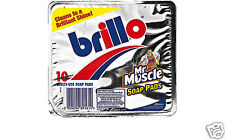 Mr Muscle Johnson Brillo 10 Multi Usage Nettoyage Savon Dosettes