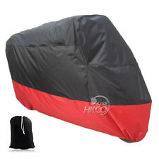 XXXL Size Motorcycle Cover Red+Black For Honda Gold Wing GL 1200 1500 1800