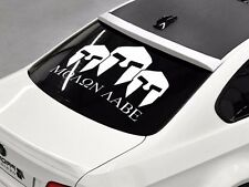 Molon Labe come and take them rear window hood body logo Stickers Decals