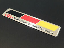 AUDI SPORT GERMANY FLAG TEAM GOH BADGE EMBLEM BOOT A3 A4 A5 A6 A8 S3 S4 FREE P&P