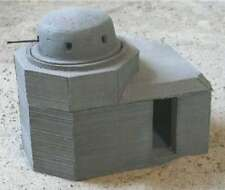 MGM 070-27 1/72 Resin WWII German 2cm Flak in Tank Turret Style 261 Bunker