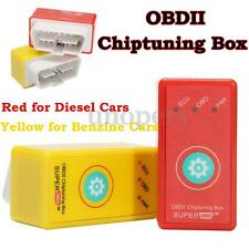 Universal 2 IN 1 OBD2 OBDII Chip Tuning Box Reset Button For Diesel/Benzine Cars