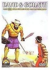 *DVD David & Goliath: And Six More Stories From The Old Testament NEW Animated
