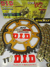 ZX6R ZX600 636 NINJA '07-13 SUPERSPROX DID  QUICK ACCEL CHAIN AND SPROCKETS KIT