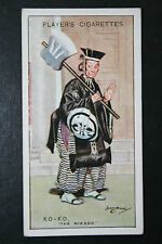 The Mikado  Gilbert and Sullivan  Ko-Ko  1920's Vintage Card # VGC