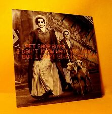 Cardsleeve single CD Pet Shop Boys I Don't Know What ... 2TR 1999 Pop House
