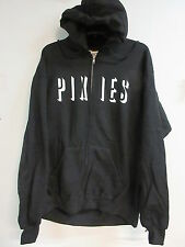 NEW - PIXIES NAME CONCERT / MUSIC ZIP UP HOODIE SWEATSHIRT  EXTRA LARGE