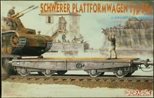 Dragon / DML 1:35 '39-'45 Series Schwerer Plattformwagen Typ SSy Model Kit #6069
