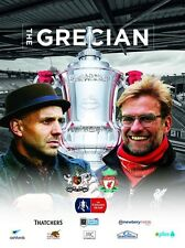 EXETER CITY v LIVERPOOL 2015/16 F A CUP MINT PROGRAMME