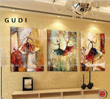 GUDI-Huge Modern Abstract hand-painted Art Oil Painting home Decoration Unframed