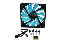 GELID Solutions WING 14 UV BLU 140mm x 25mm 14cm High Performance Case Fan