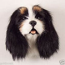 (1) BLACK KG SPANIEL DOG MAGNET! Very realistic collectible fur refrig. Magnets.
