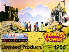 CD ROM - MASTERS OF THE UNIVERSE & PRINCESS OF POWER  TOY FAIR CATALOG 1986